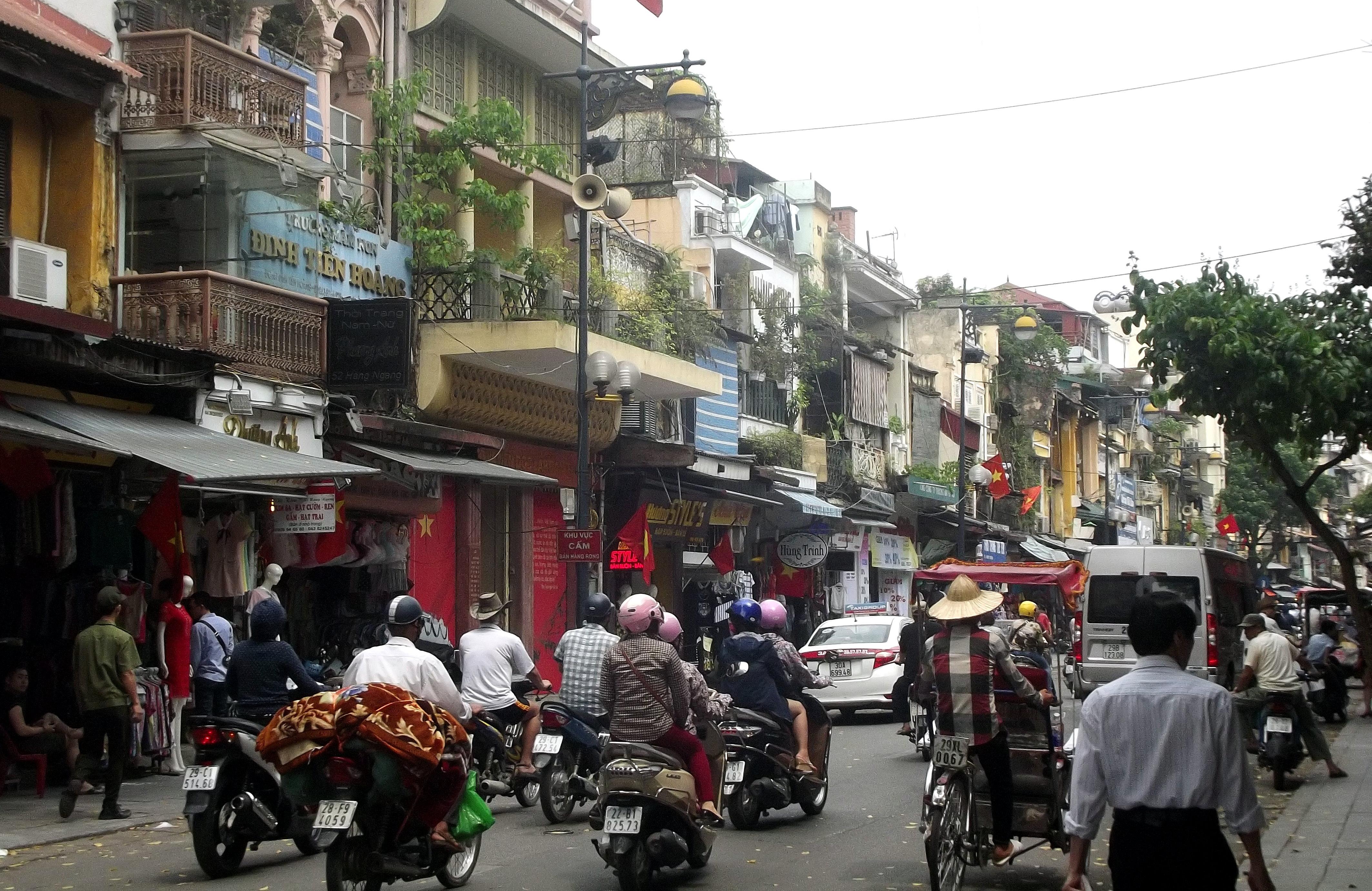 Hanoi street