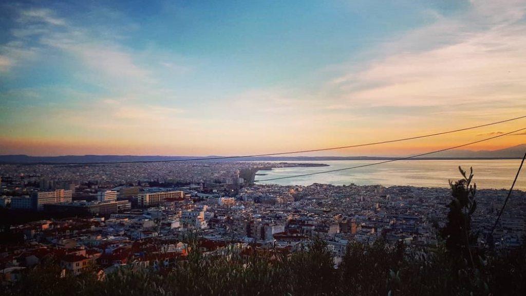 Thessaloniki Aussicht