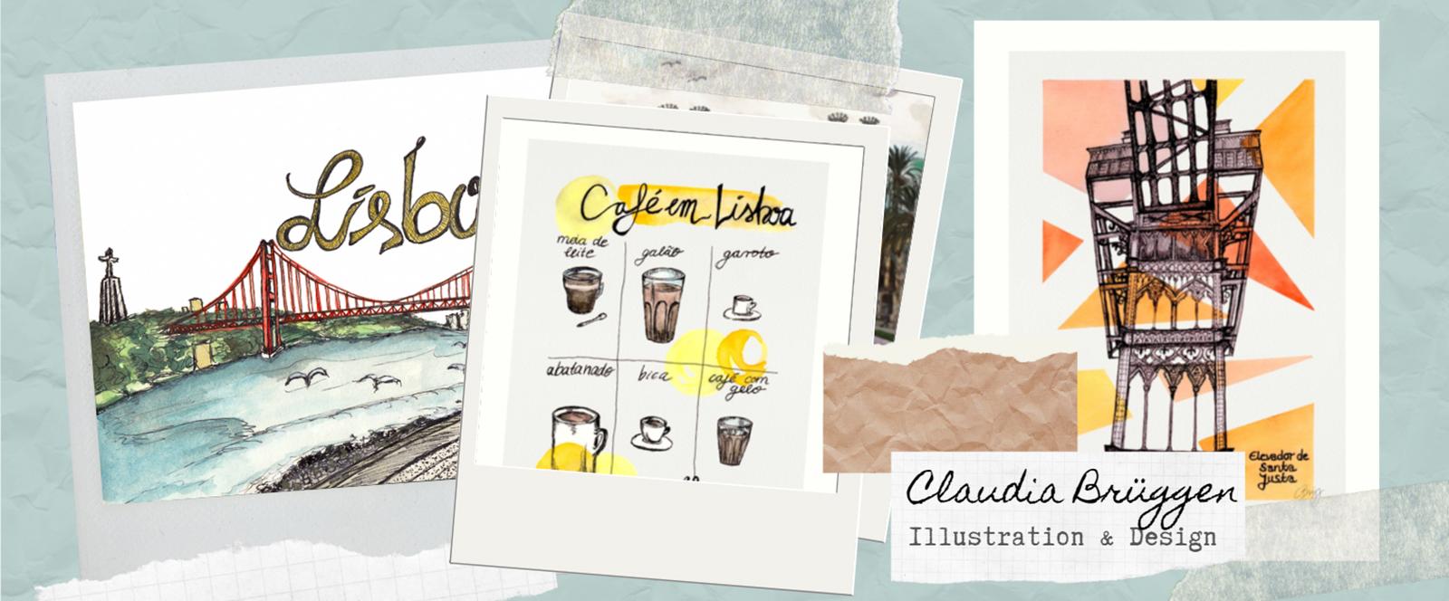 Illustratorin für Reisen und Städte